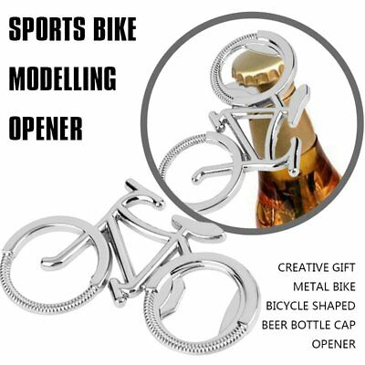 Creative Gift Metal Bike Bicycle Shaped Beer Bottle Cap Opener Q8W1
