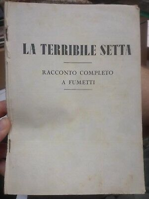 Raccolta KITTY lire 100 LA TERRIBLE SECT edition Oriani 1949 racconto complete