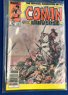 """Official Handbook of the Conan Universe"" Marvel comics, Vol.#1, Issue #1"