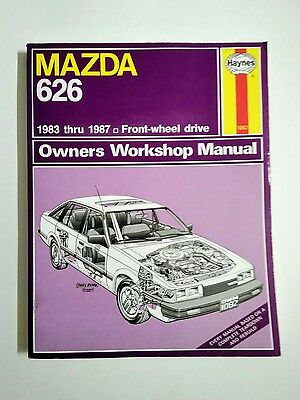 Haynes Manuals: Mazda 626 1983-1987 front wheel drive