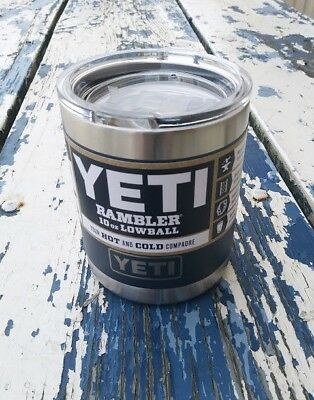YETI - NAVY BLUE  - 10 oz.  Rambler Lowball  - Brand New Color - Just  Released