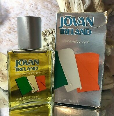 *IRELAND by JOVAN*  *4 FL OZ COLOGNE/AS*EXTREMELY RARE & HARD TO FIND* *VINTAGE*