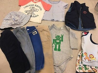Baby Boys Bulk Bundle Size 0 / 6-12months  *10 ITEMS** COUNTRY ROAD**INDIE*
