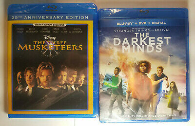 The Three Musketeers (Disney)+ The Commuter (Blu-ray+DVD+Slip Cover, No Digital)