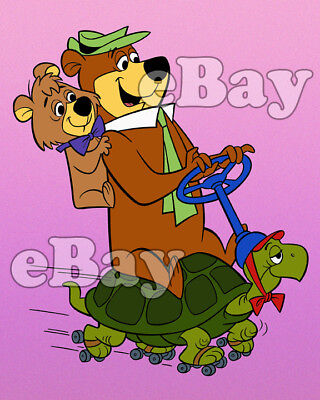 Rare! YOGI BEAR Cartoon Color TV Photo HANNA BARBERA Studios BOO BOO