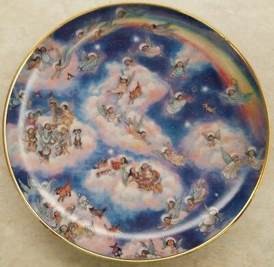 "Bill Bell ""Heavenly Days"" Limited Edition Porcelain Plate"