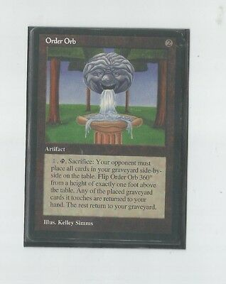 *Order Orb* INQUEST GAMER, Mtg rarities Magic: the gathering / Chaos Orb