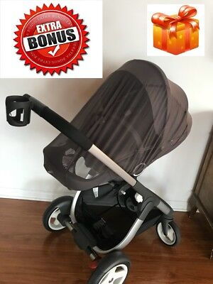 Stokke Crusi Stroller Comes With The Second Seat Adapter And Cup Holder