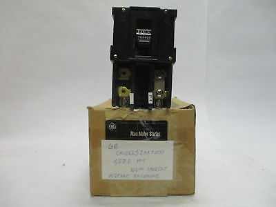 ge manual motor starter switch cr1062r2b 149 99 picclick rh picclick com General Electric Magnetic Starters Single Phase Motor Starter Wiring