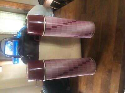 Thermos Metal Fillers and cups and Carring bag