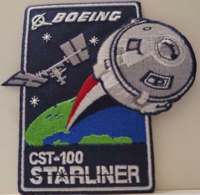 CST-100 STARLINER MISSION PATCH BOEING Crew Space Transportation
