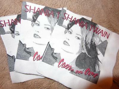 Shania Twain *50+ Come On Over Paper Napkins Used For Album Release Party!