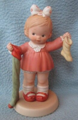 "Memories Of Yesterday 1989 ""The Long And Short Of It"" Figurine #522384 Enesco"
