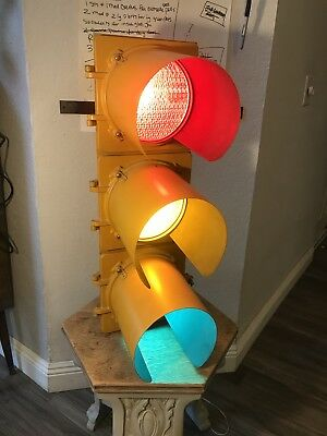 Vintage Traffic Light From New York City Came Down In Hurricane Agnes 1972