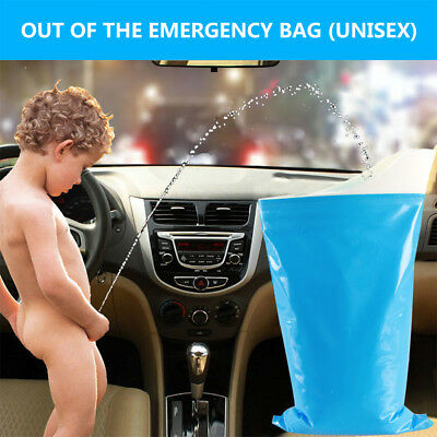 New Portable Camping Urinal Bag Female Unisex Emergency Standing UP Pee 2018 HK8