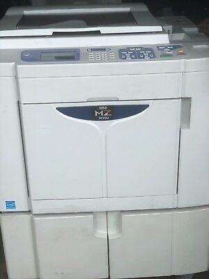Riso MZ1090 Two-Color, Single-pass Digital Duplicator (Copy-646k/Master-3k)