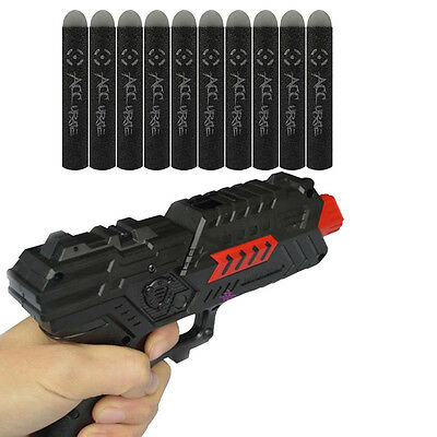 10pcs Toy Gun Blaster Shoot Refill Foam Darts Nerf Elite N-Strike Mega  N.Pro