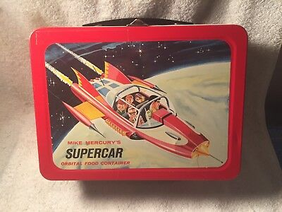 Supercar Lunchbox (1962) BeautifulCondition! Cherry!!