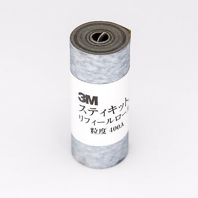 "3M Abrasive Sanding Paper Roll Grit 400A, 2-1/2"" x 11 ft. Adhesive-backing"