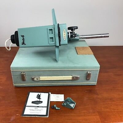 Vintage Rare USSR Yna-6 Portable Enlarger 35mm Auto Focus With Flaw