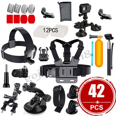 Accessories Pack Case Head Chest Monopod Bike Suction Cup for GoPro Hero6 5 4 3+