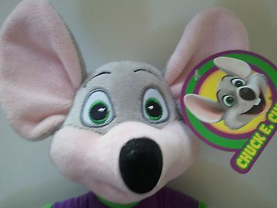 "Chuck E Cheese Limited Edition Soft Plush Doll New For 2018! 13.5"" New Fun Item!"