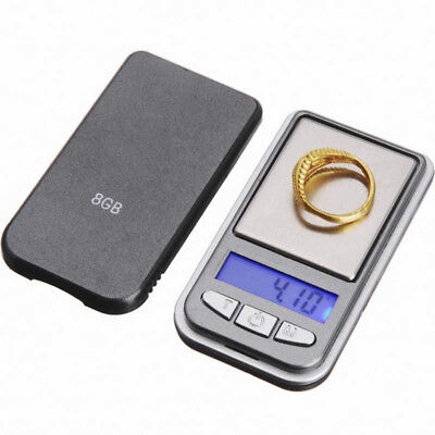 Useful 200g x 0.01g Digital Pocket Scale Jewellery Balance gram Scales Weight