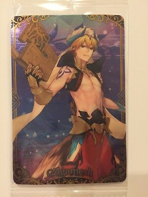 Fate Grand Order Wafer Card Caster Gilgamesh Vol.2 R17