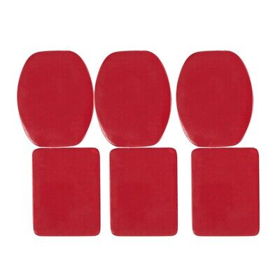 6 pcs 3M Sticker Tape Adhesive Pads Set for Gopro Hero 3/ 2/ 1 ST-14 New A6Q7