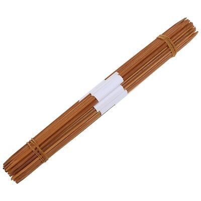 11 x 4pcs 25cm a double-pointed bamboo knitting needles range: 2.0-5.0mm H2N9