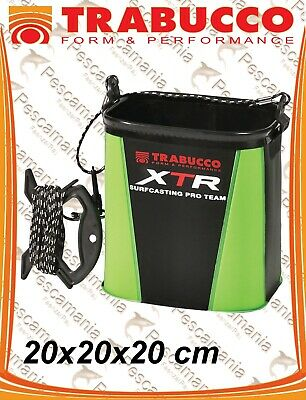 7fe61a4b456 Bucket PVC Trabucco XTR SURFING with rope take water resealable 20x20x20cm