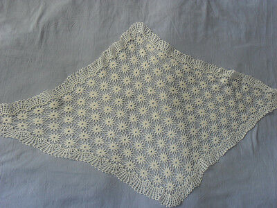 Lovely Vintage Handmade Tablecloth (Small)