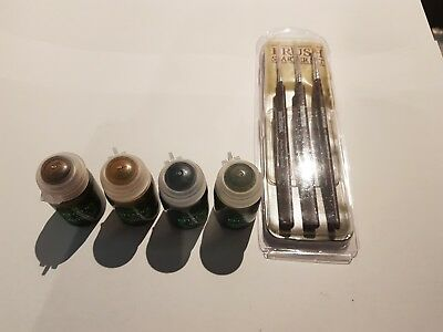WH40K Paints and brushes