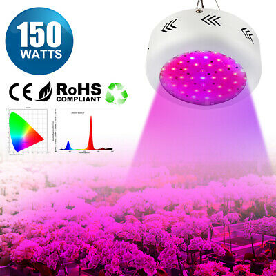 UFO Vollspektrum LED Pflanzenlampe Pflanzenlicht Wuchslampe Grow Light Birne DE