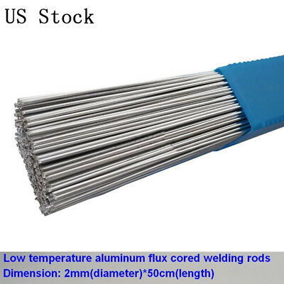 2mm Flux Cored Aluminum Welding Wire No Need Powder Instead of WE53 Copper 20pcs
