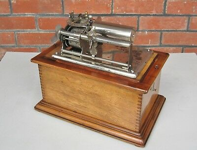 RARE Ch & J Ullman French cylinder record phonograph ( not Edison )