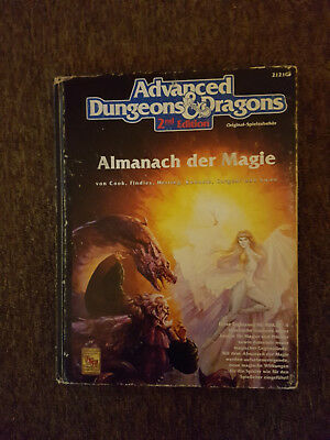 AD&D/Advanced Dungeons & Dragons - Almanch der Magie - 2121G Deutsch TSR