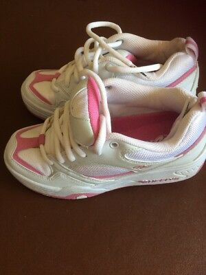 Heelys Uk Size 3 white and pink