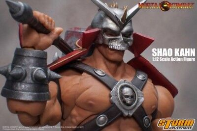 Mortal Kombat: Shao Kahn 1/12 Figure With Accessories By STORM COLLECTIBLES