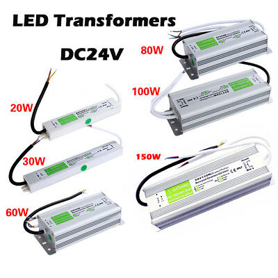 DC24V IP67 Waterproof LED Driver Power Supply Transformer for LED Strip Sign PSU