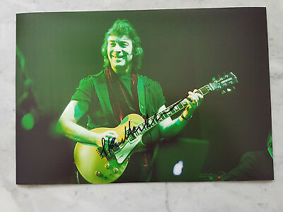 Steve Hackett (Genesis) SIGNED photo