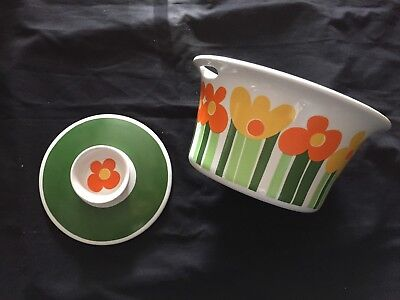 Anne Marie Figgjo Vintage Casserole Dish With Lid