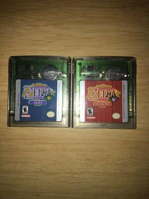 Legend of Zelda: Oracle of Ages and Seasons Lot (Nintendo Game Boy Color, 2001)