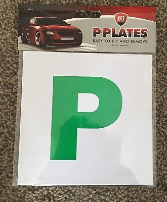 Brand New Just Passed P Plates New Driver Fully Magnetic Plates.