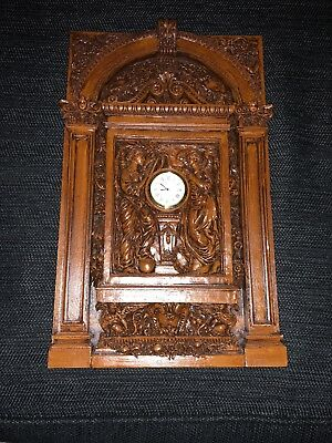 Miniature Grand Staircase Clock Replica from the Titanic