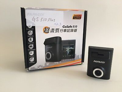Papago GS 510 Plus Super HD Dashcam + GPS, Auto- Kamera, Car Camcorder / Dashcam