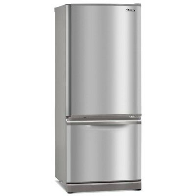 Mitsubishi Electric 325L stainless steel Fridge/Freezer combo MR-BF325C