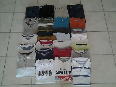 RENTREE: Lot de 26 vêtements - T.10 ans - TBE -