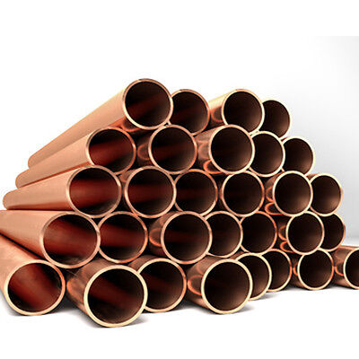 6mm/8mm/10mm/15mm/22MM COPPER TUBE/PIPE PLUMBING/WATER/GAS/DIY/NEW all sizes