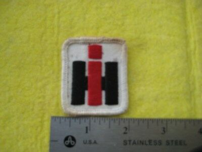 Vintage IH International Harvester Man On A Tractor Uniform Hat Patch